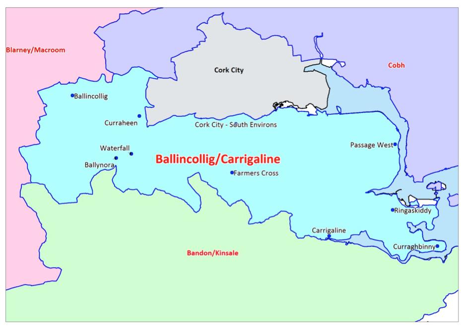 Ballincollig Carrigaline